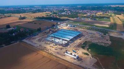 Safran – budowa hali produkcyjnej w Sędziszowie Młp.