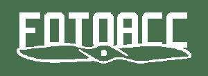 Logo Fotoacc białe pole ochronne