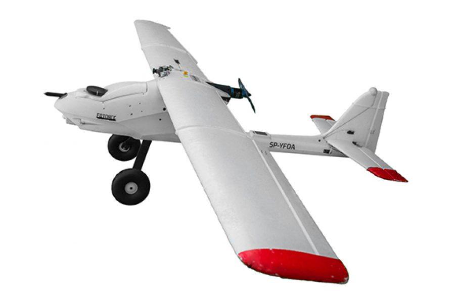 Samolot X-05 – statek powietrzny do długich lotów fotogrametrycznych i multispektralnych