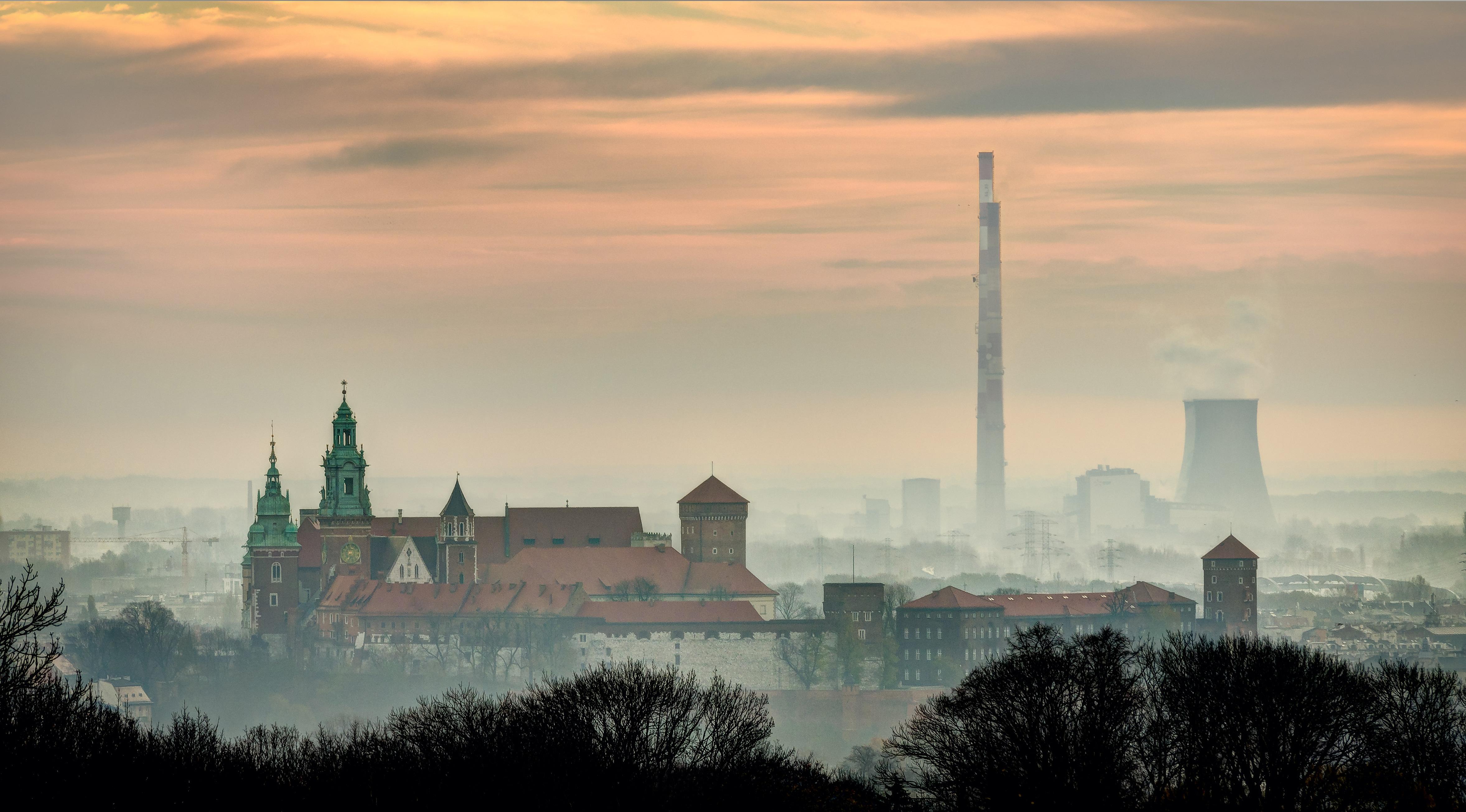 zanieczyszczenie powietrza kraków