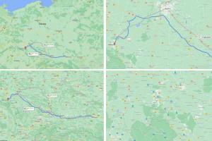 Mapa Rzeszow Aglomeracja Walbrzyska